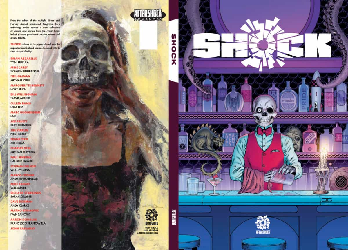 Shock 23-page preview AfterShock