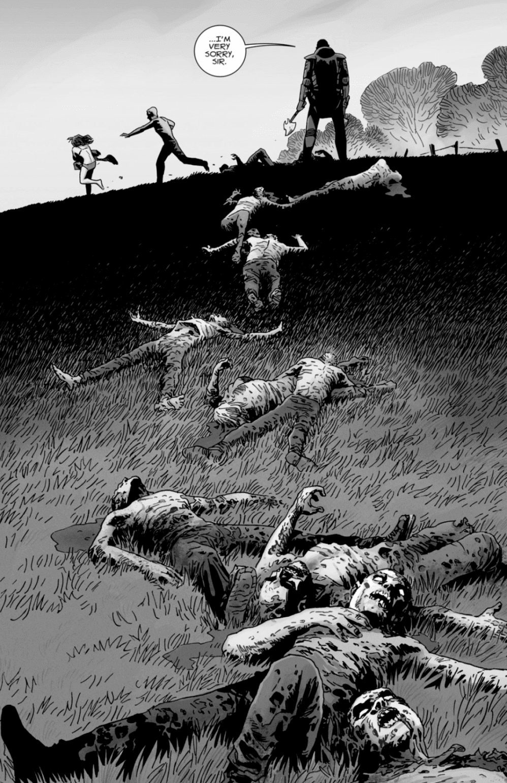 Review: THE WALKING DEAD #177 - Enter The Tropes That Bring Down The Commonwealth