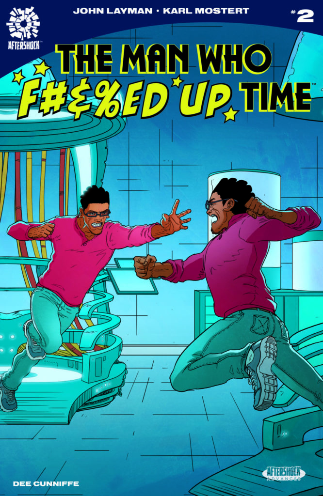 Exclusive AfterShock Comics Preview: THE MAN WHO F#%&ED UP TIME #2