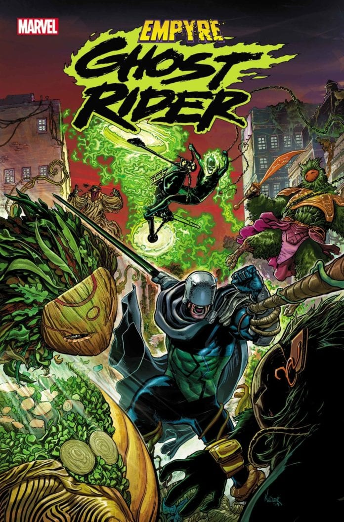 Marvel Comics Announces Empyre Ghost Rider 1 One Shot For May