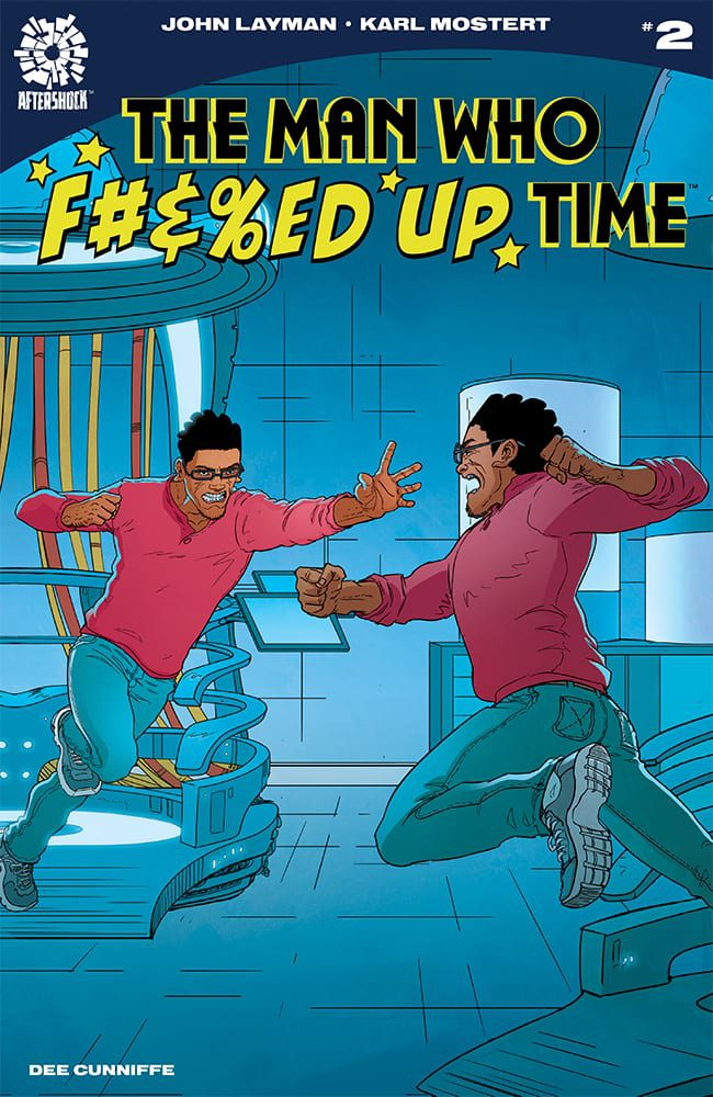 Interview: Karl Mostert, The Artist Of THE MAN WHO F#%&ED UP TIME