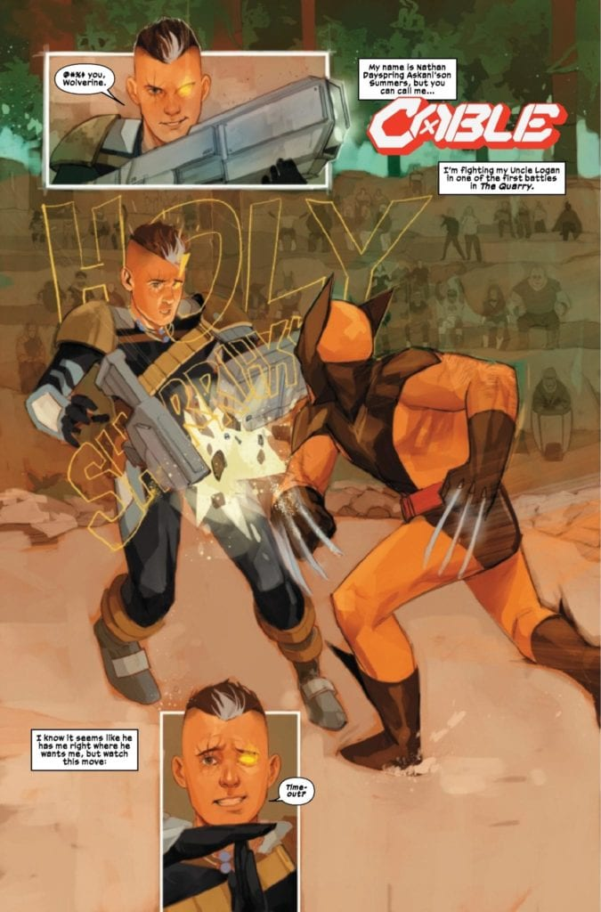 Panel Breakdown: CABLE #1 By Gerry Duggan, Phil Noto & Joe Sabino