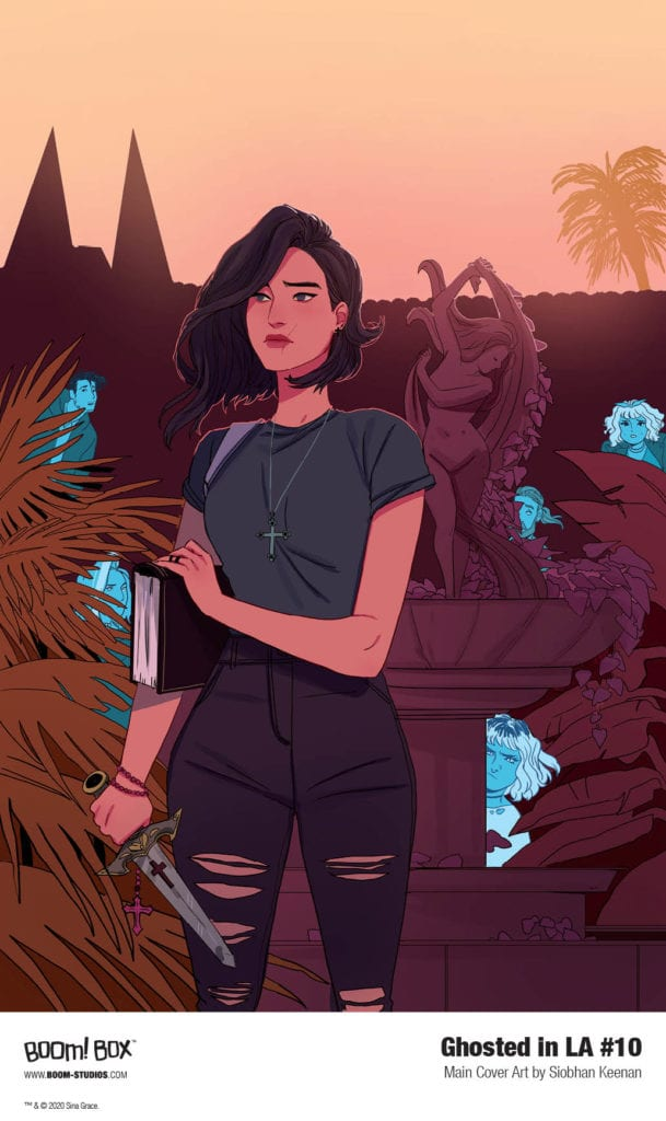 Exclusive First Look at Sina Grace's GHOSTED IN LA #10
