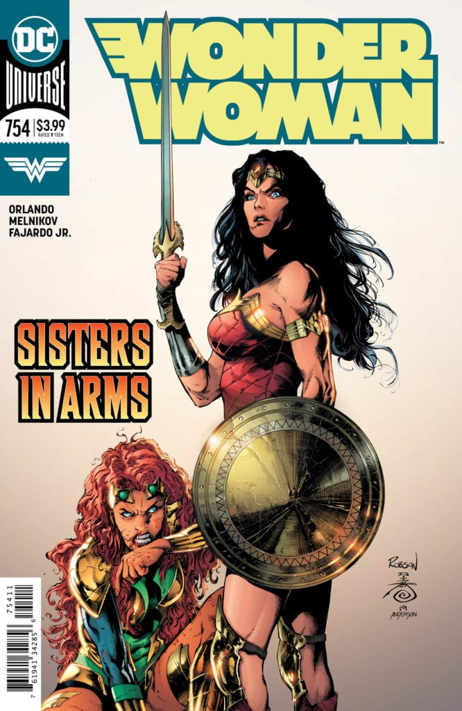 Preview WONDER WOMAN #754