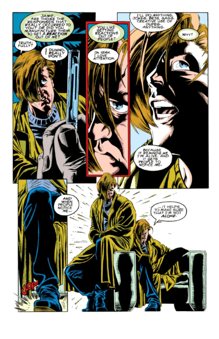 A painful haircut from X-Factor #87