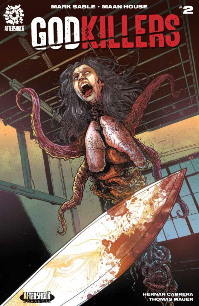AfterShock Exclusive Preview: GODKILLERS #2