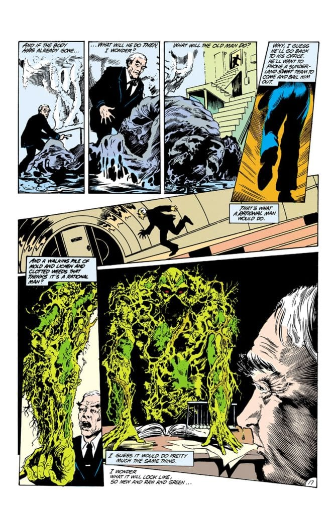 Saga of the Swamp Thing #21 Credit: DC Comics