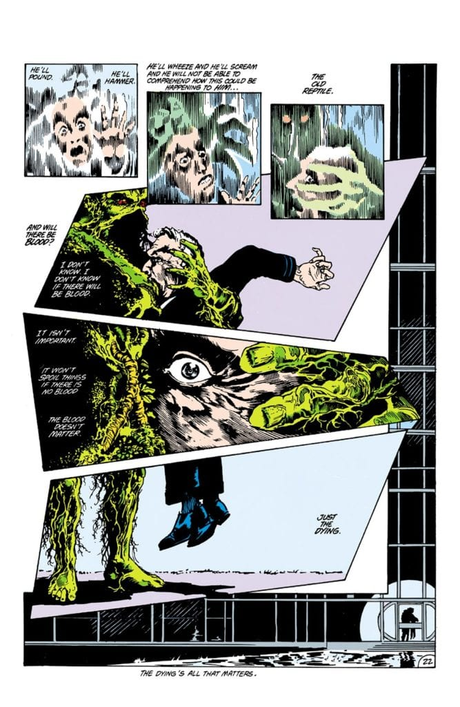 Saga of the Swamp Thing #21