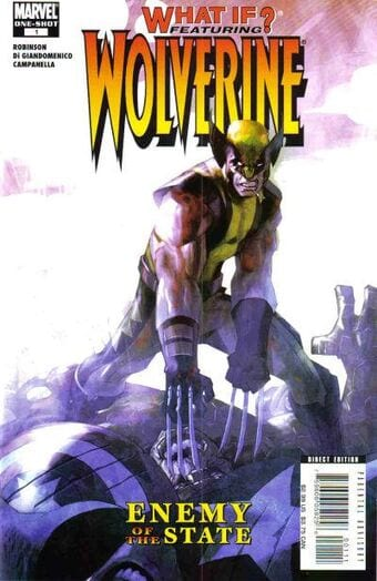 What If? Wolverine: Enemy of the State Cover