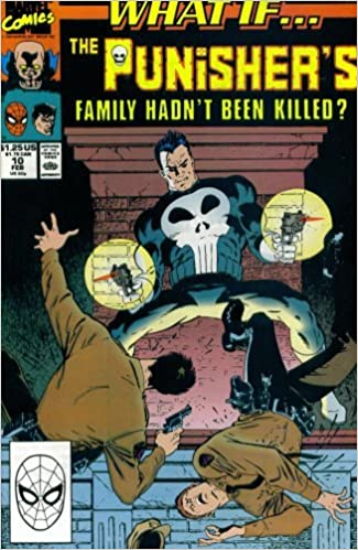 What If the Punisher's Family Hadn't Been Killed? Cover