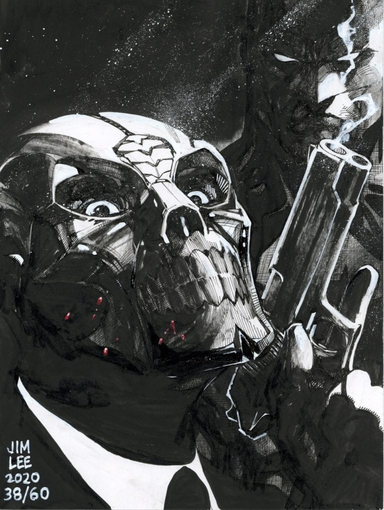 Exclusive: Check Out Jim Lee's Latest Sketch Benefitting Comicbook United Fund