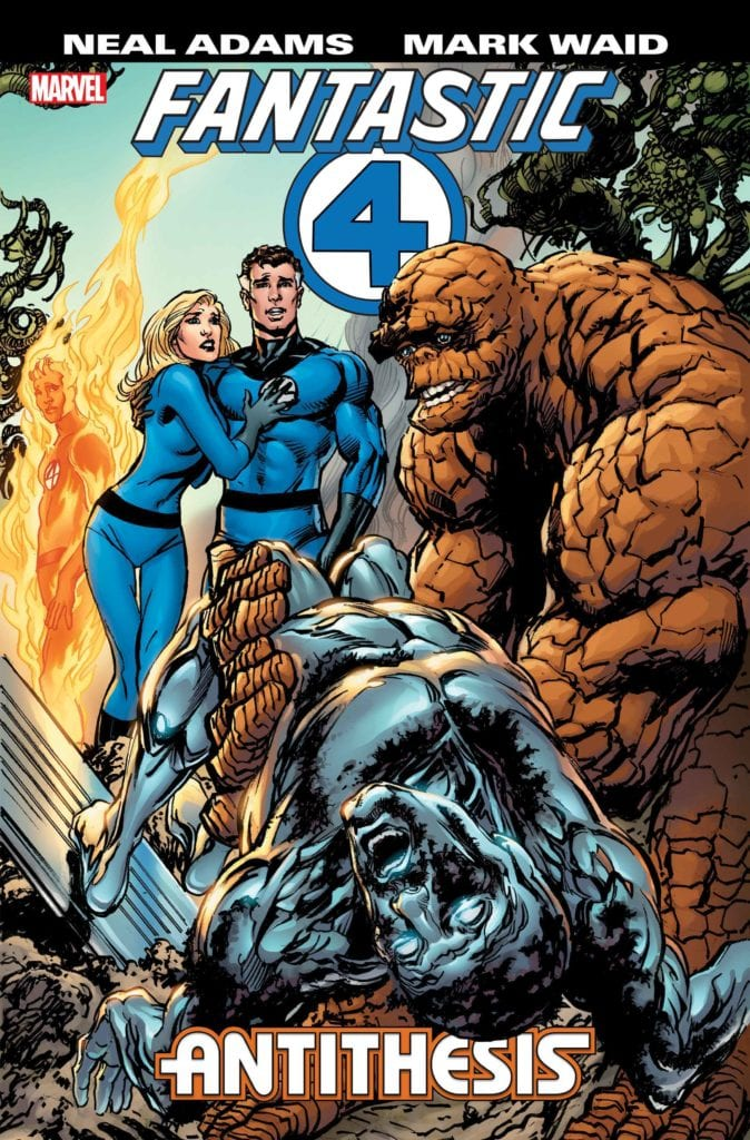 FANTASTIC FOUR: ANTITHESIS - Mark Waid Kills Of The Silver Surfer?