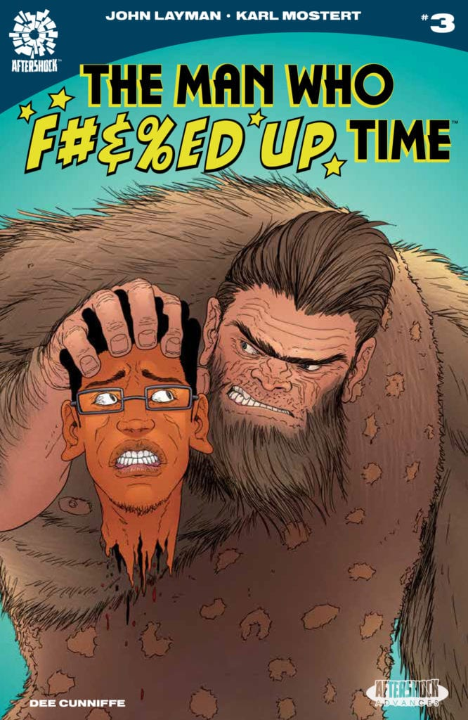 Exclusive AfterShock Preview: THE WHO F#%&ED UP TIME #3