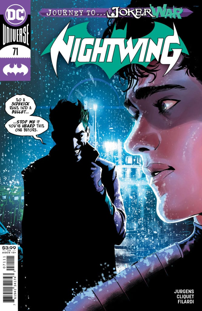 NIGHTWING #71 Preview: The Joker Chats With Ric
