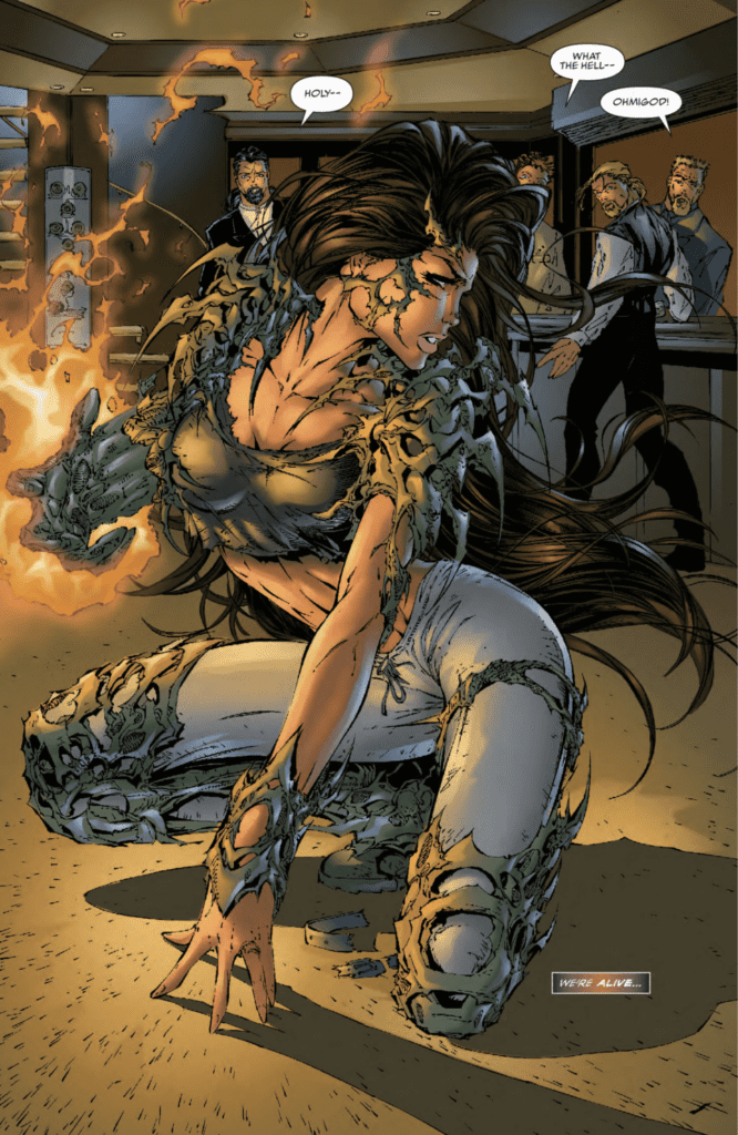 Review: THE COMPLETE WITCHBLADE, VOL. 1 Is 90's Action At Its Best