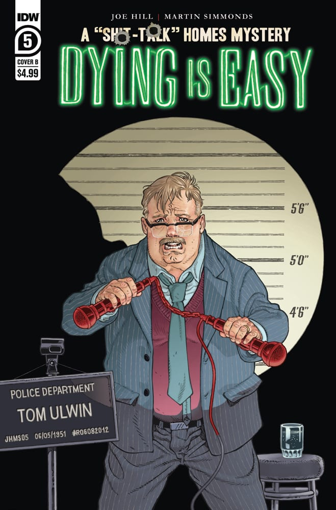 dying is easy #5 exclusive preview