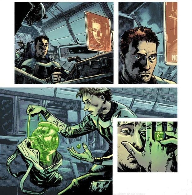 Green Lantern Earth One Vol 1