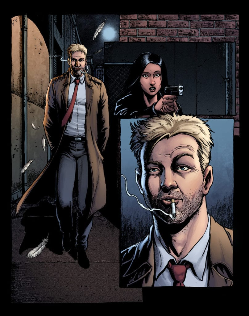 Hellblazer Rise and Fall