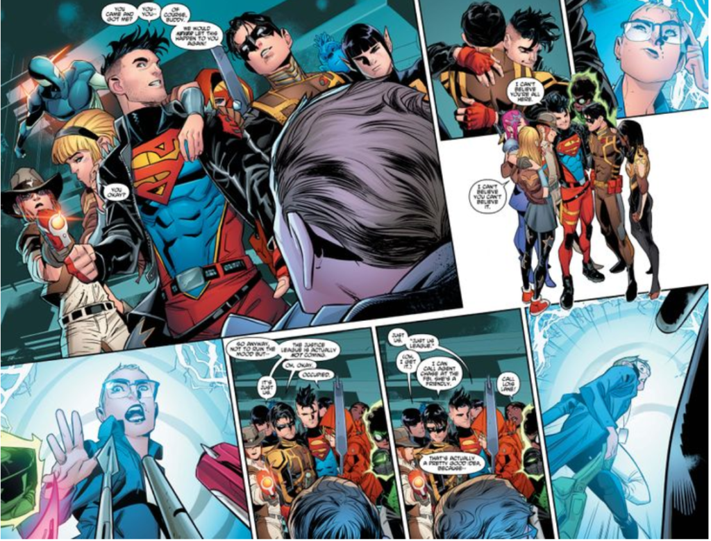 Young Justice 15 3 Reunion