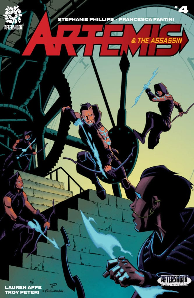 AfterShock Exclusive Preview: ARTEMIS & THE ASSASSIN #4