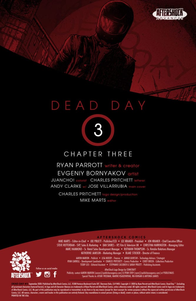 AfterShock Exclusive Preview: DEAD DAY #3