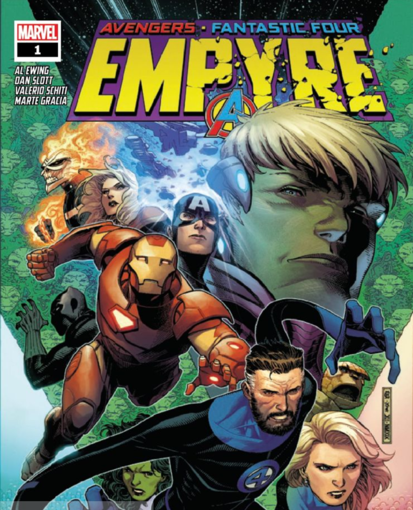 Empyre 1 Cover