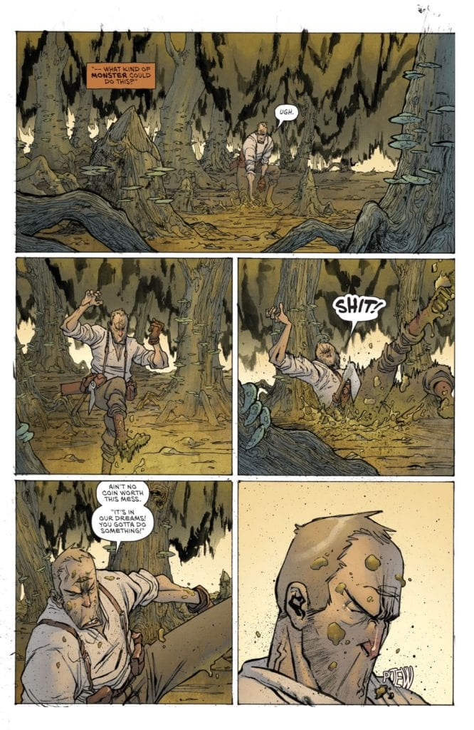 Grit #1, coloring sample