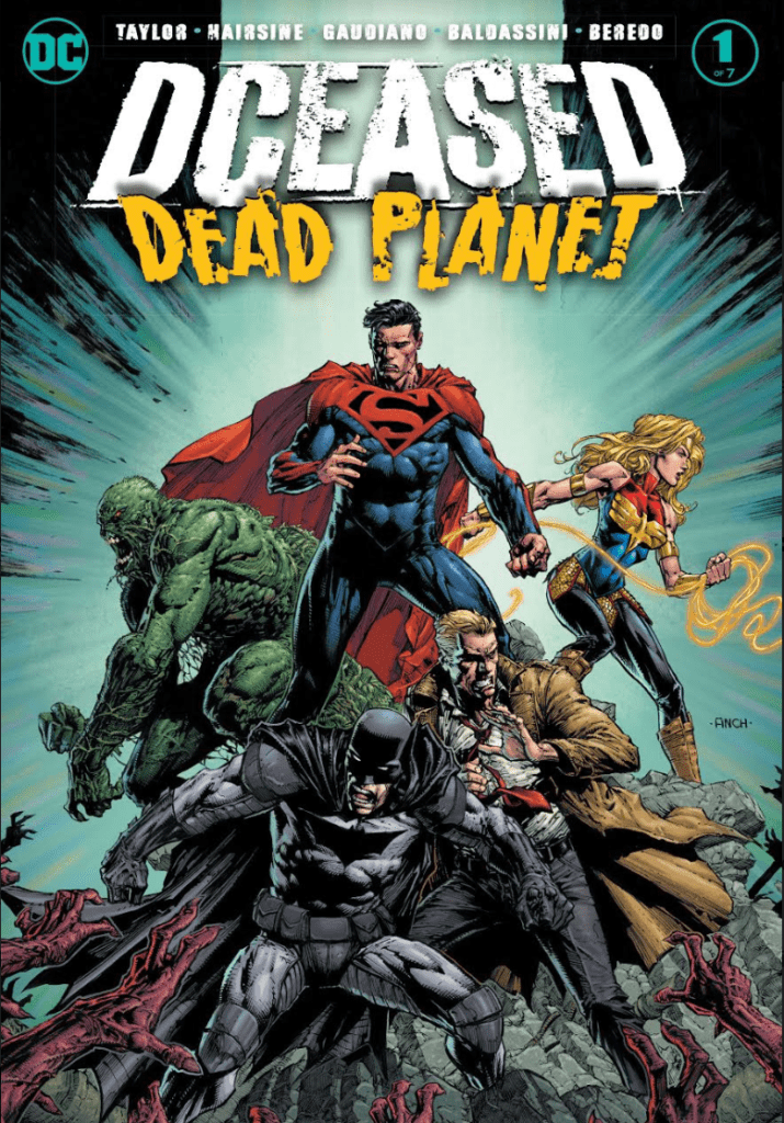 DCeased: Dead Planet #1 cover