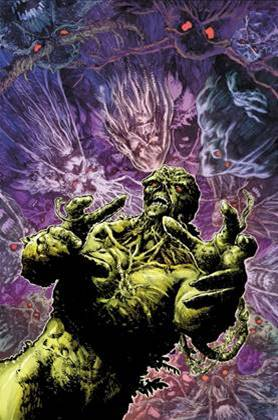 LEGEND OF THE SWAMP THING HALLOWEEN SPECTACULAR #1, cover