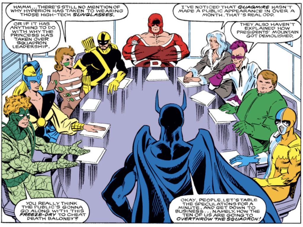 SQUADRON SUPREME: In The Shadows Of Watchmen