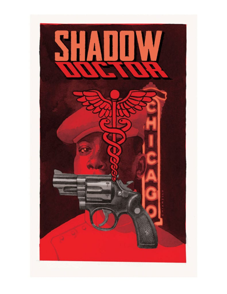 Shadow Doctor #1, cover