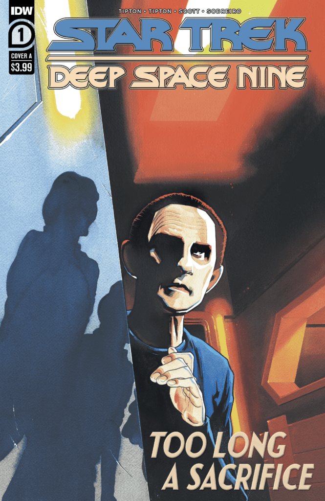 IDW Exclusive Preview With Commentary: STAR TREK: DEEP SPACE NINE - TOO LONG A SACRIFICE #1