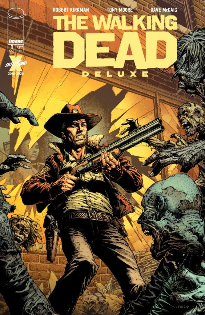 The Walking Dead #1, color cover