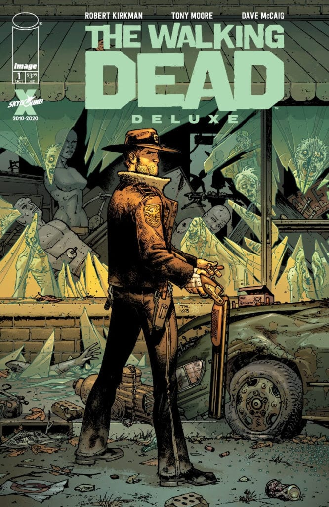 The Walking Dead #1, color cover variant