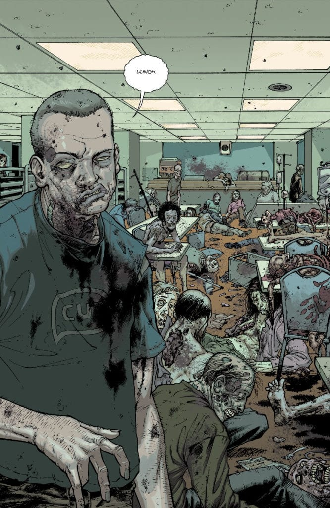 The Walking Dead #1, color page 3