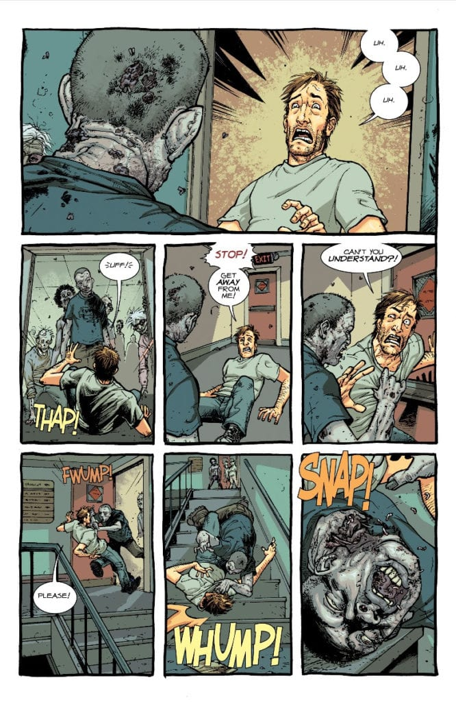 The Walking Dead #1, color page 4