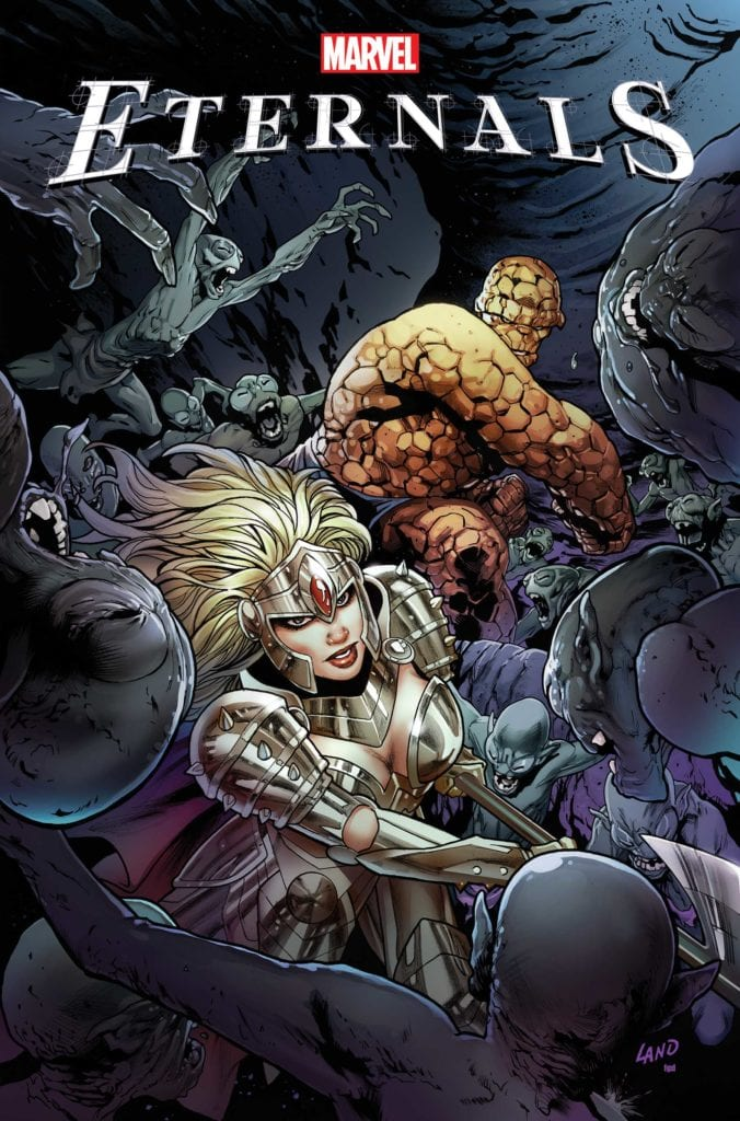 Exclusive Reveal: Check Out Greg Land's ETERNALS #1 Variant Cover