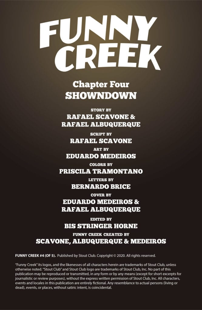 ComiXology Exclusive Preview: FUNNY CREEK #4