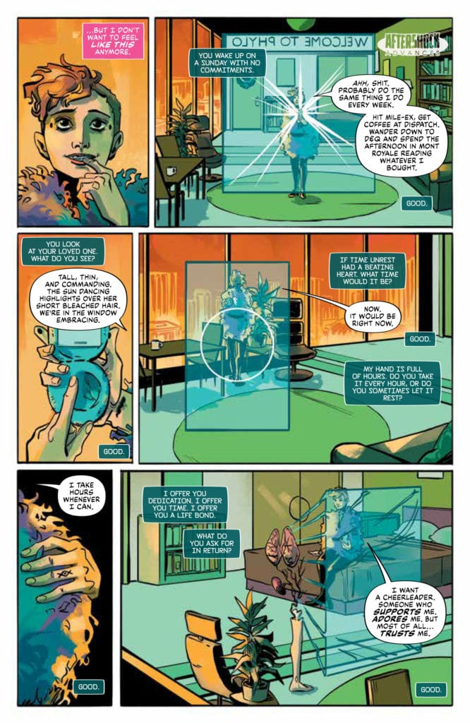 lonely receiver #1 aftershock comics exclusive preview