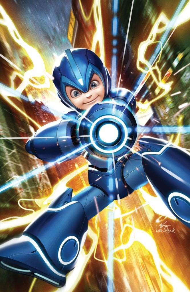 Mega Man: Fully Charged #1 Variant Cover
