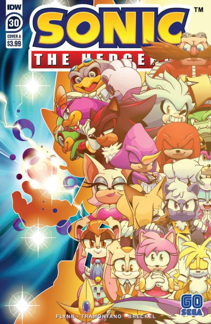 Review: SONIC THE HEDGEHOG #30 Doesn't Slow Down