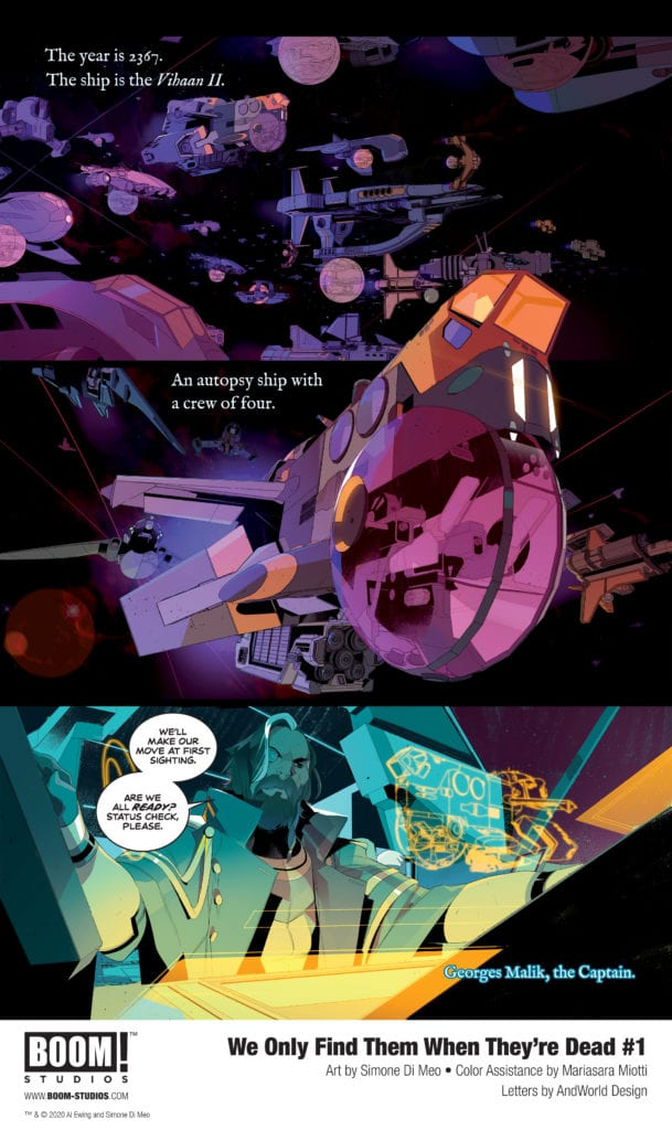 We Only Find Them When They're Dead #1, preview p2