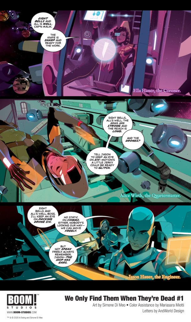 We Only Find Them When They're Dead #1, preview p3