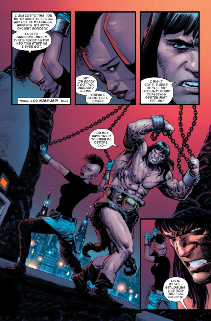 marvel comics exclusive preview conan the barbarian