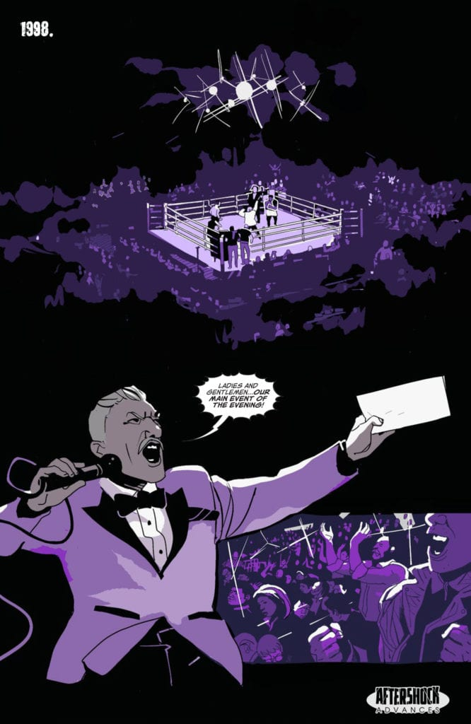 Read The First 4 Pages Of KILL A MAN Original Graphic Novel