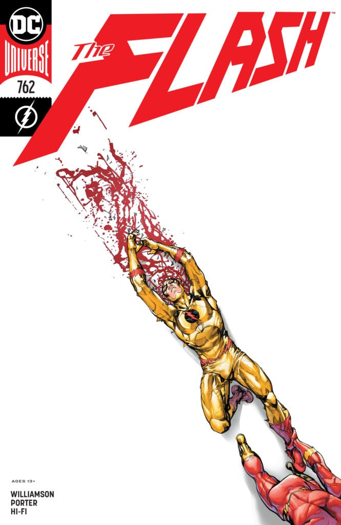 The Flash 762 cover