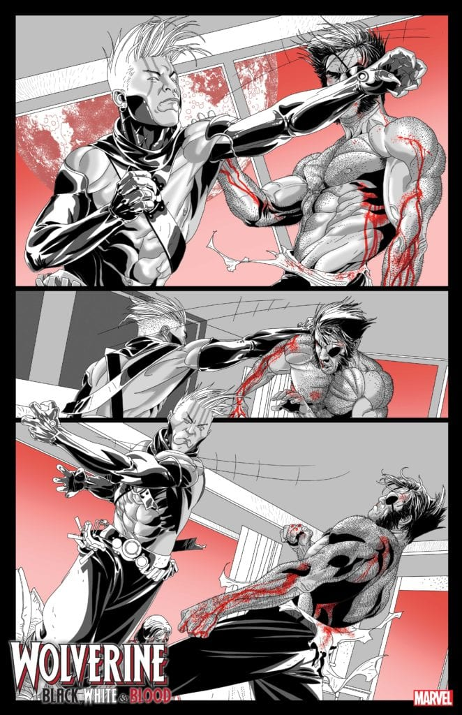 6-Page Preview • WOLVERINE: BLACK, WHITE, AND BLOOD #2