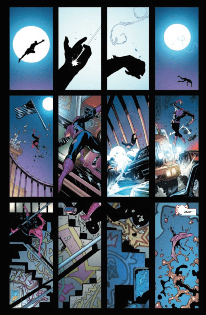 The Amazing Spider-Man #50 Silent Page