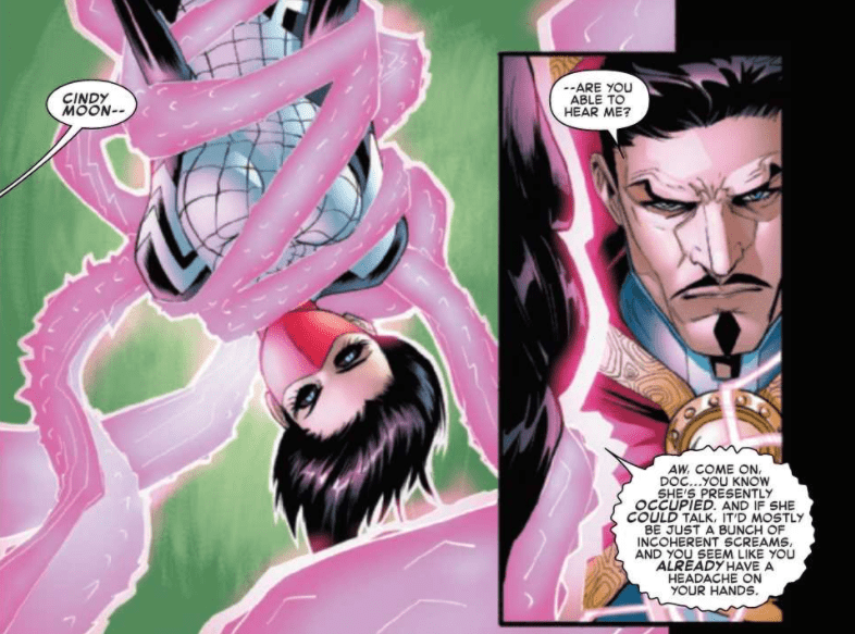 The Amazing Spider-Man #51 Dialogue example