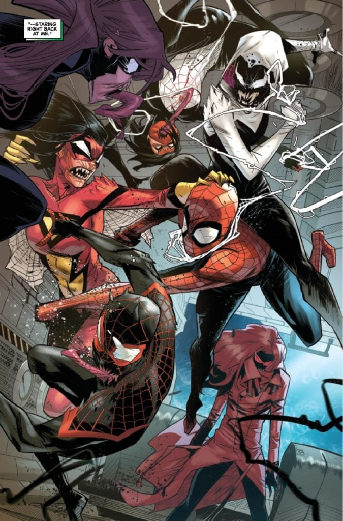 Exclusive Marvel Comics Preview: AMAZING SPIDER-MAN #50.LR